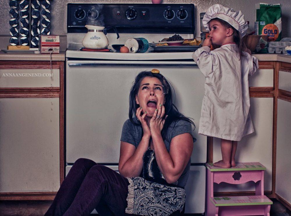 Прикольные картинки для молодых мамочек, день рождения девочке