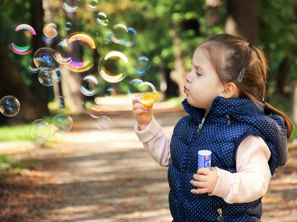 Надпись к картинке с мыльными пузырями, открытки