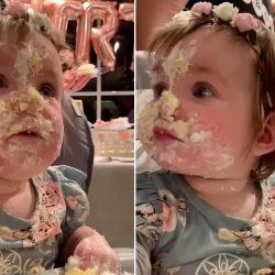 торт 1 год девочка