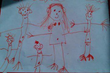 смешные детские рисунки