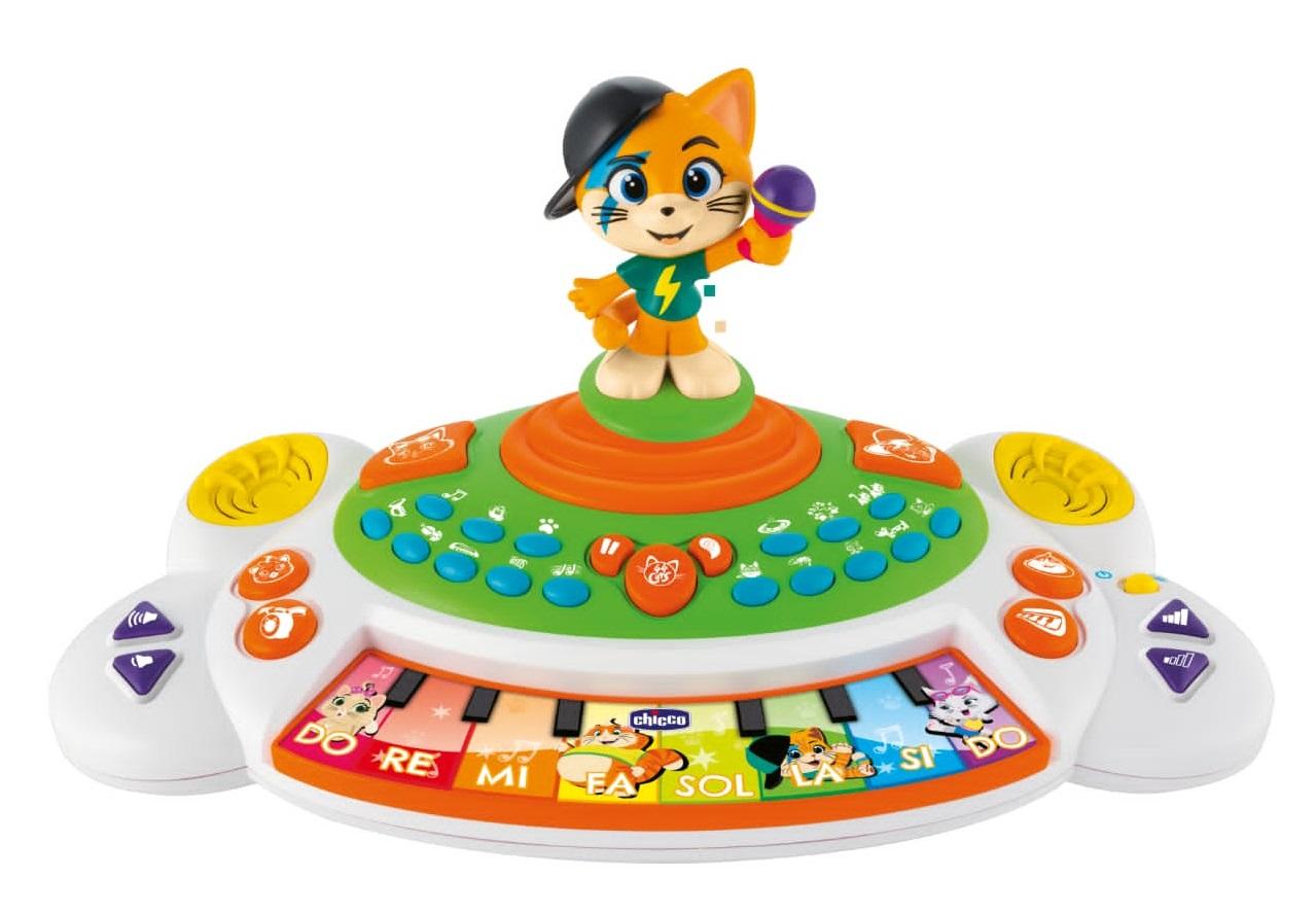 Музыкальная игрушка «Пианино» 44 котёнка